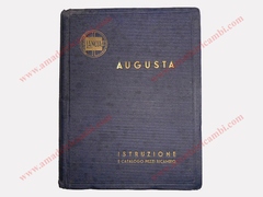 Instruction manual and spare parts catalogue for Lancia Augusta