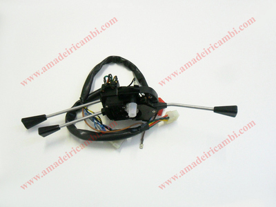 Lights and control switch - Lancia Beta 1° series 1300cc. and 1400cc.