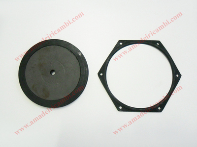 Brake booster main membrane and gasket - Lancia Flavia, with Dunlop system