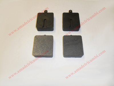 Rear brake pads - Lancia, various models with Dunlop system