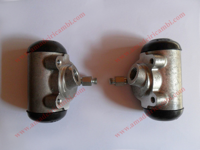 Front brake cylinders, complete - Lancia Ardea, models with Sabif system, earliest types