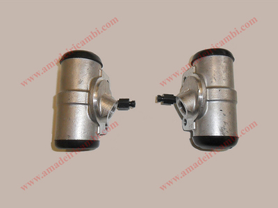 Front brake cylinders, complete - Lancia Aprilia 2° series, except earliest models