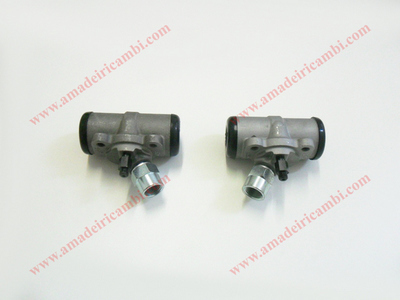 Front brake cylinders, complete - Lancia Aprilia 1° series