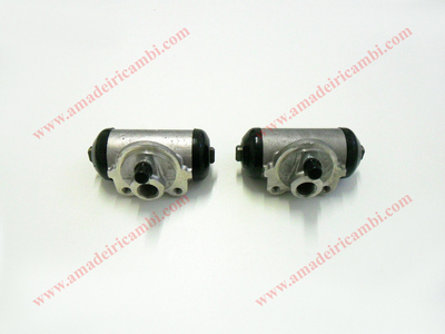 Rear brake cylinders, complete - Lancia Ardea, models with Sabif system, latest types