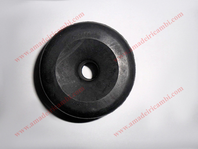 Engine support rubber buffer, upper - Lancia Flaminia