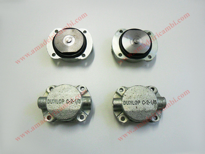 Front brake cylinders, complete - Lancia, various models with Dunlop system