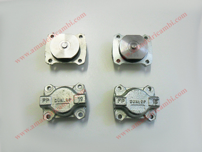 Rear brake cylinders, complete - Lancia, various models with Dunlop system
