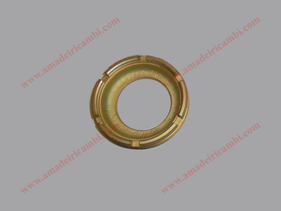 Bearing locking ring nut, front inner - Lancia Fulvia