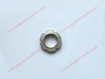 Bearing locking ring nut, front outer - Lancia Fulvia, earliest models