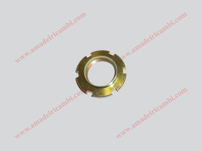Bearing locking ring nut, front outer - Lancia Fulvia