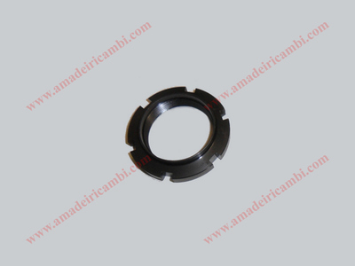 Bearing locking ring nut, rear inner - Lancia Fulvia, earliest models