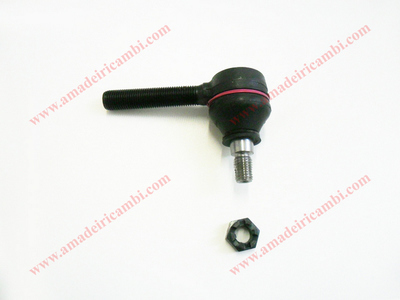 Steering rod end with left hand thread - Lancia Fulvia
